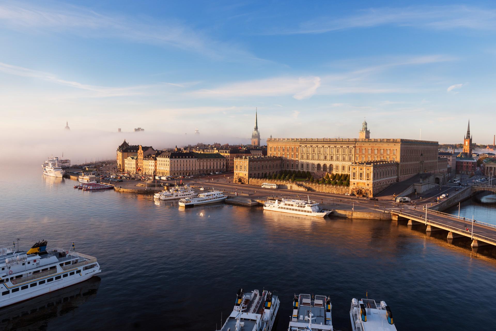 Grand panorama de la Baltique