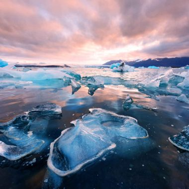 Côte sud, geysers et glaciers