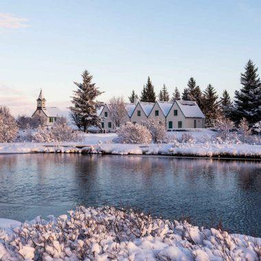 Saga islandaise – en hiver