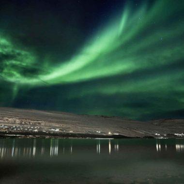 Magie des aurores boréales