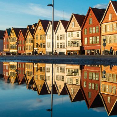 Fjords et cap Nord – de Bergen à Olso
