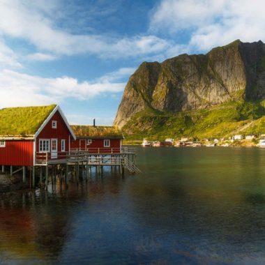 Les îles Lofoten, en Rorbuer…