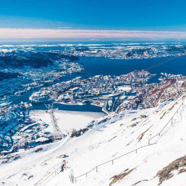 Les Fjords en hiver