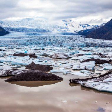 Sur la route des glaciers – en été