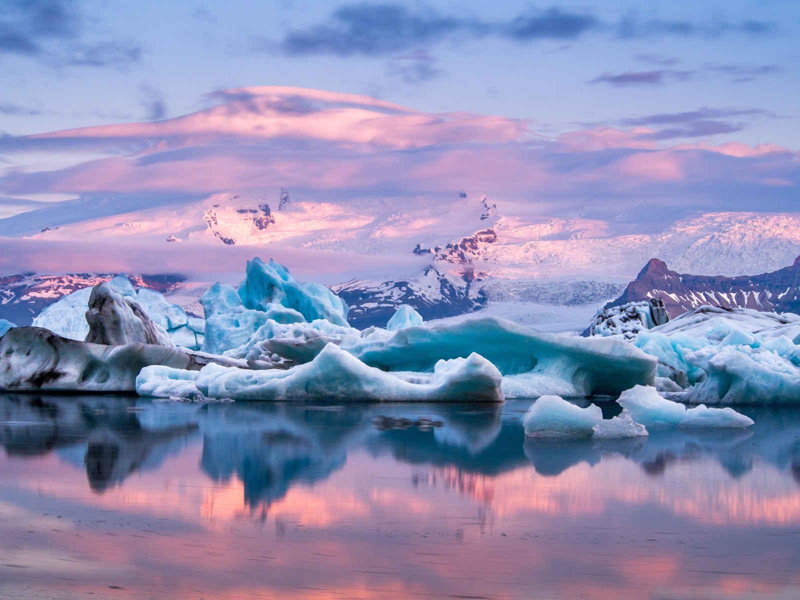Entre déserts et glaciers